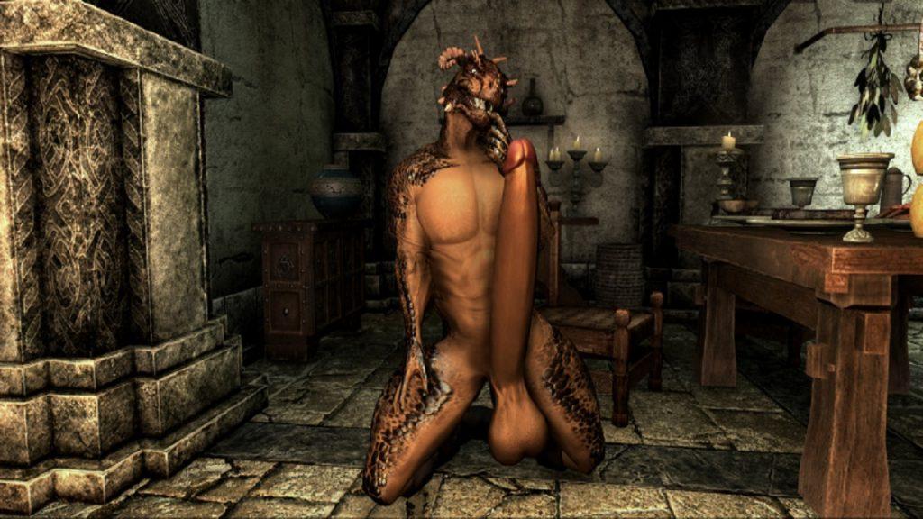 Argonian skyrim vr sex