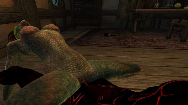 the lusty argonian maid porn | immersive porn